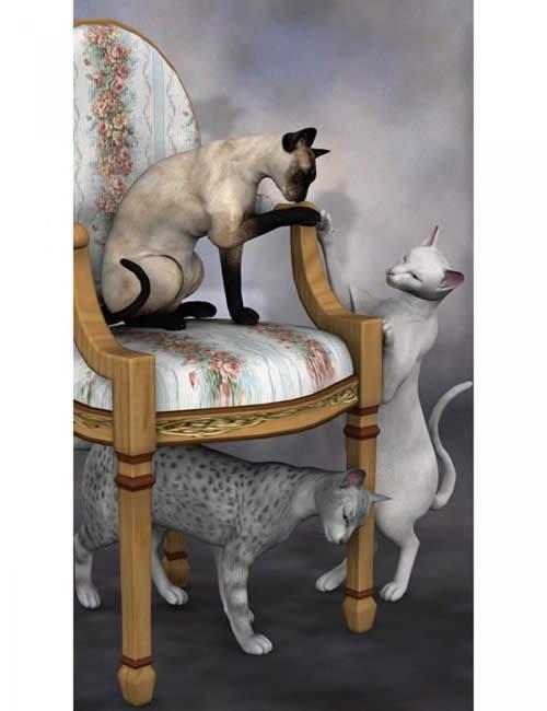 Classic Cats 2 [ .DUF & Iray UPDATE ]