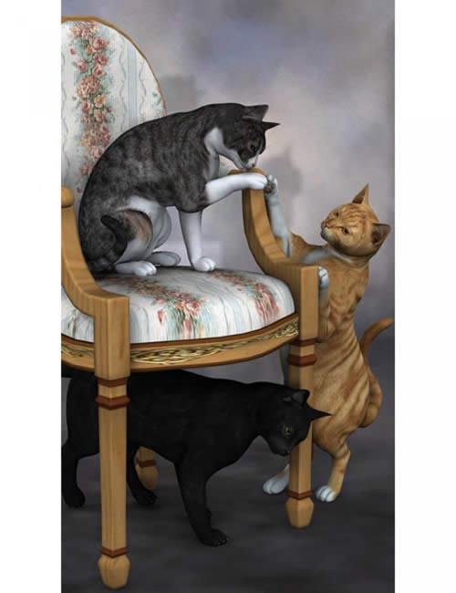 Classic Cats 1 [ .DUF & Iray UPDATE ]