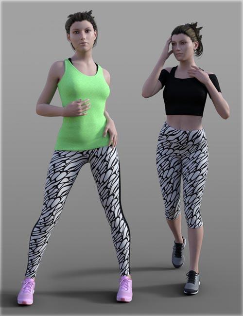 H&C Tight Sportswear Set for Genesis 3 Female(s)