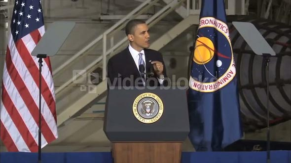 President Obama Talking About the Space Race