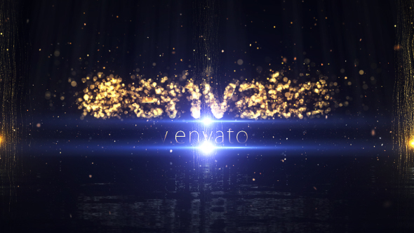 Particle Logo Reveal