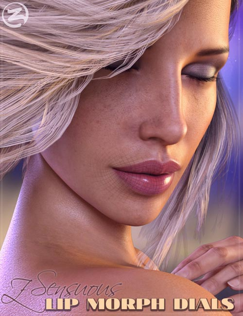 Z Sensuous Lip Morphs for Genesis 8 Female
