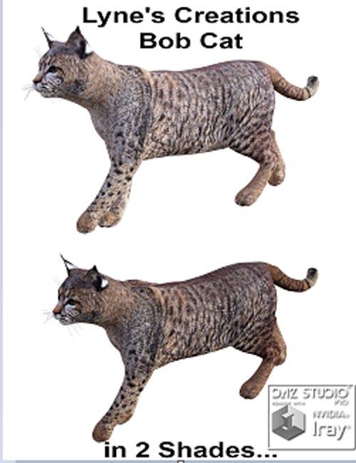 Lyne's Creations Bob Cat [Poser, .DUF & Iray ]