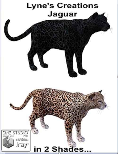 Lyne's Creations Jaguar [ Poser, .DUF & Iray ]