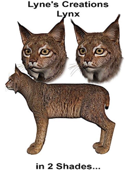 Lyne's Creations Lynx [ Poser, .DUF & Iray ]