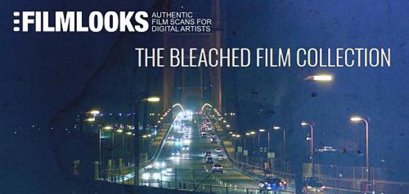 THE BLEACHED FILM COLLECTION - Damaged Film Overlay - Motion Graphic (FilmLooks)