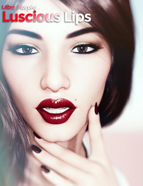 Luscious Lips for Genesis 8 Female