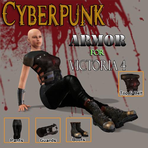 Cyberpunk Armor for V4