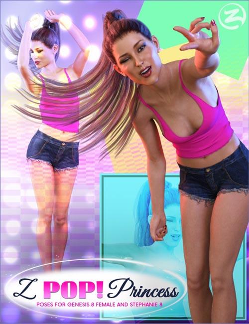 Z Pop Princess - Poses for Genesis 8 Female and Stephanie 8
