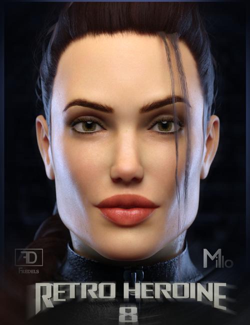 Retro Heroine 8