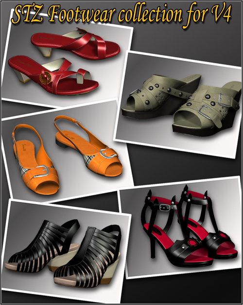 STZ Footwear collection for V4