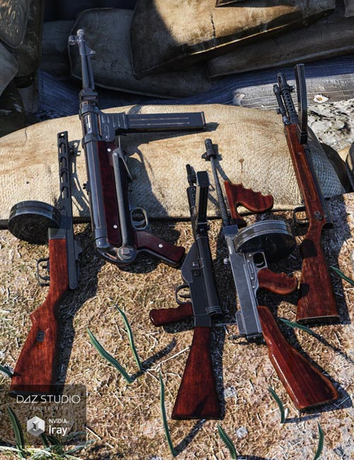 WW2 Submachine Guns