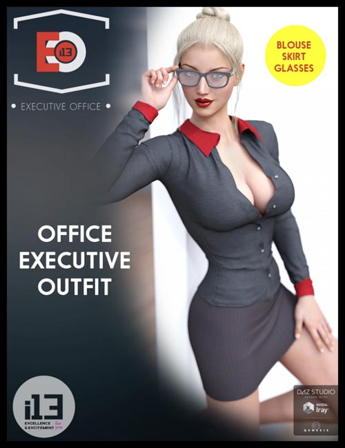 i13 Sexy Office Executive Outfit