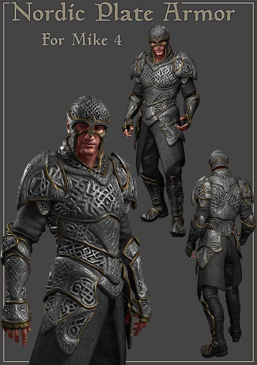 Nordic Armor for Mike 4