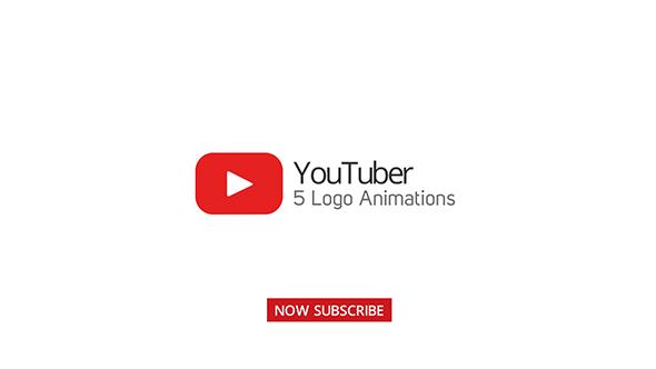Youtuber Logo Stings - 5 Versions