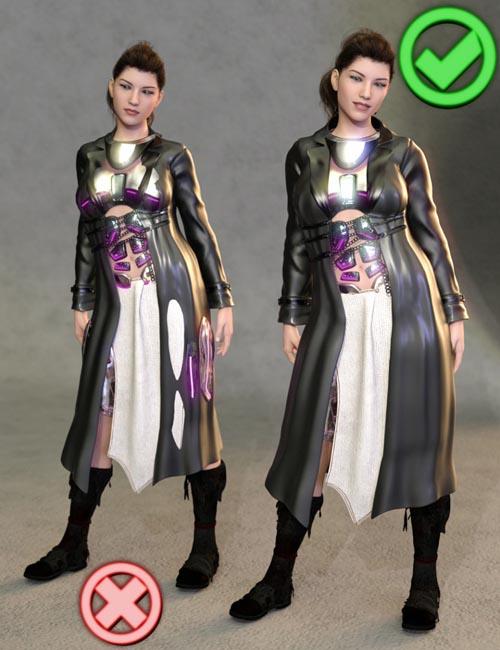 SY Clothing Fit Helper Genesis 8 Female