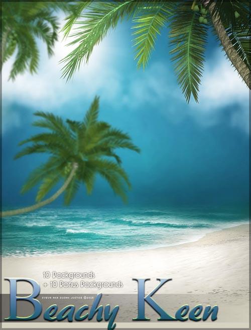 Beachy Keen Backgrounds