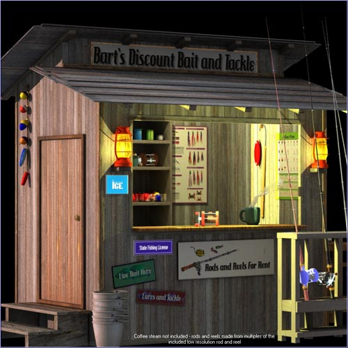 Bait Shop - 3DS