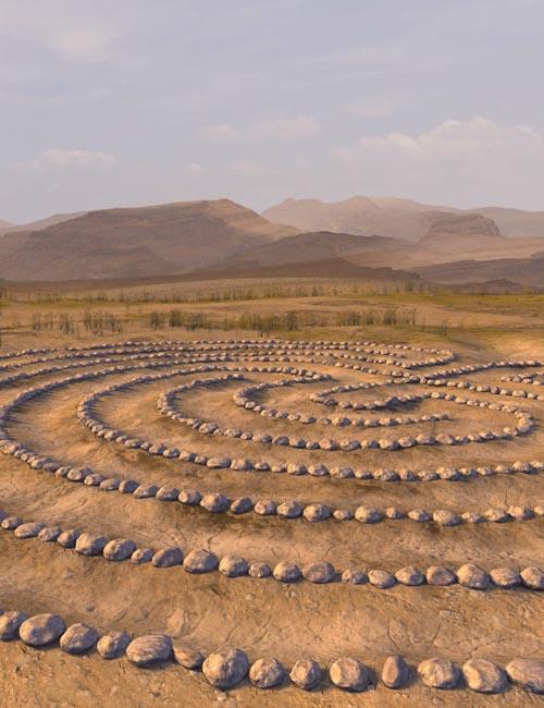 Labyrinth Circle