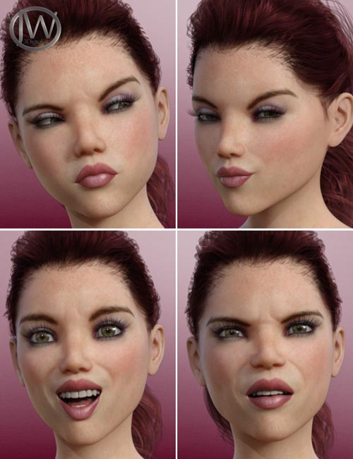 A Popular Girl - Morph Dial Expressions for Teen Josie 8