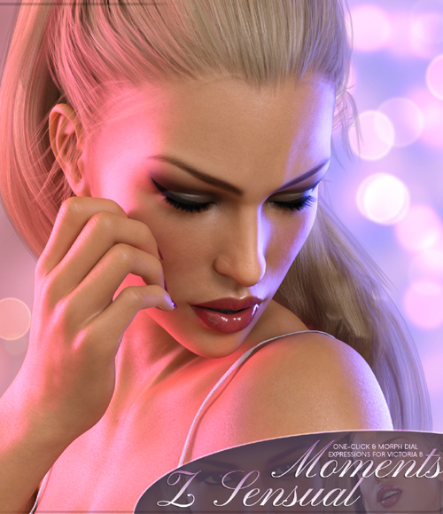 Z Sensual Moments - Morph Dial and One-Click Expressions for Victoria 8