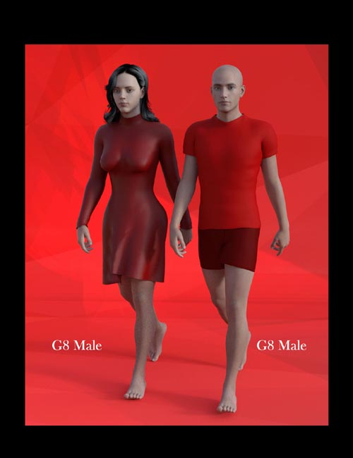 Female Body Morphs for Genesis 8 Male