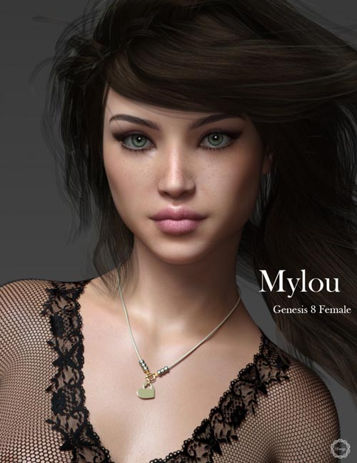 P3D Mylou for Genesis 8 Female