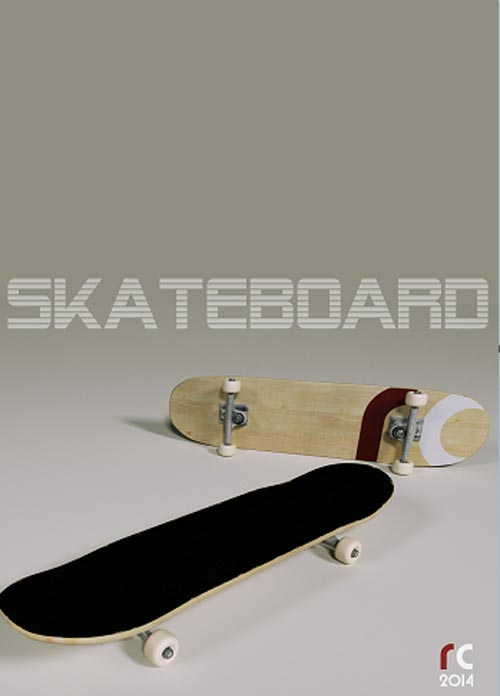 RC Skateboard [ RE-UPPPED ]
