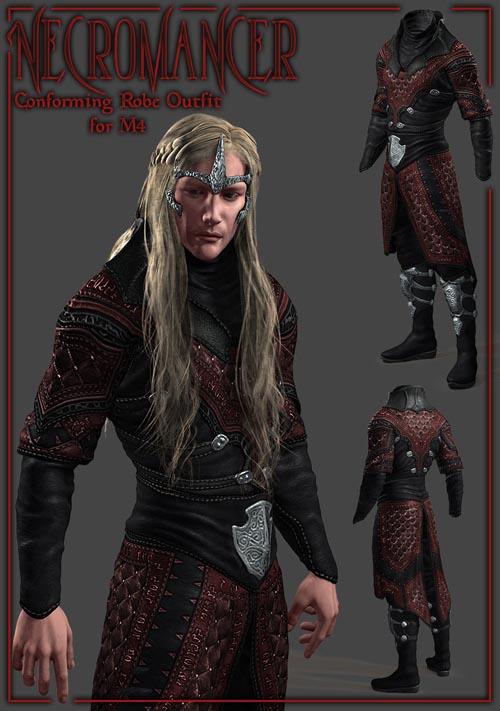 Necromancer Robe for M4