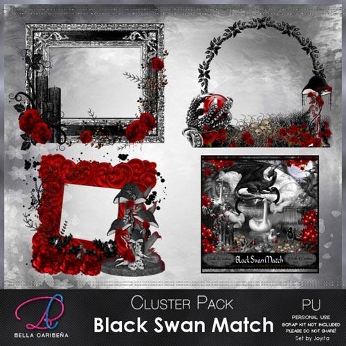 Black Swan Cluster Frames 9 (TS_PU)