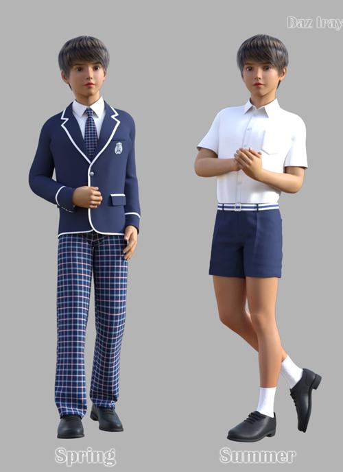 GaoDan School Uniforms 21