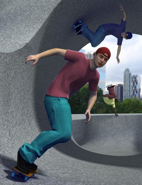 The Skate Park [ Iray UPDATE ]