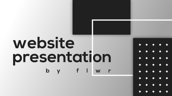 Flat Website Presentation