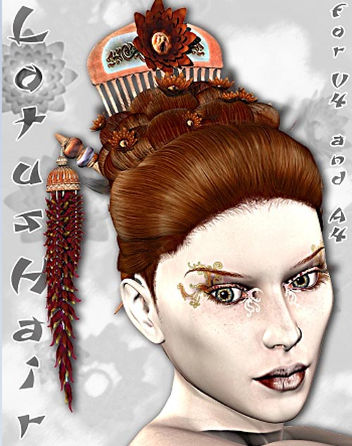 LotusHair for Victoria 4 and Aiko 4