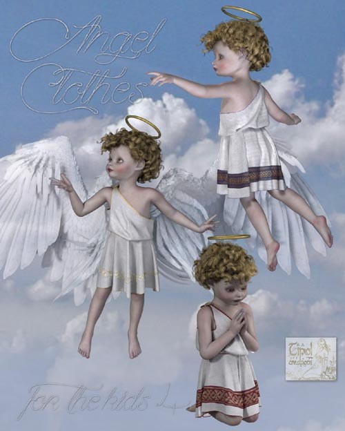 Angel Clothes for the Kids 4
