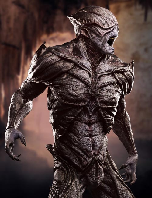The Disruptor Alien HD for Genesis 3 Male