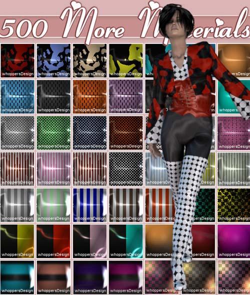 500 More Materials Vol 5