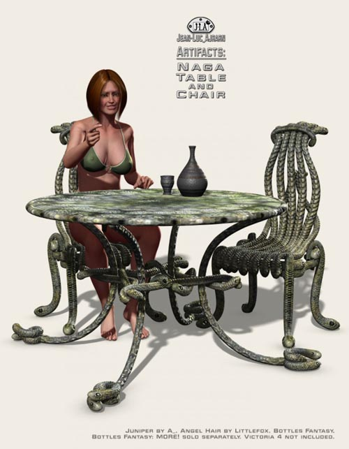 Artifacts: Naga Table and Chair