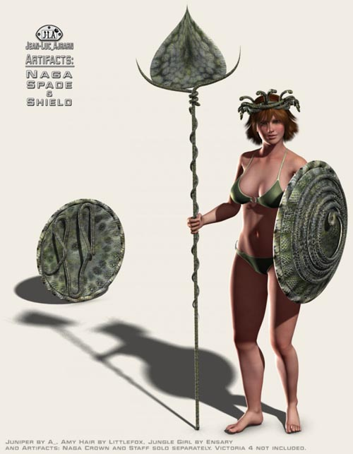 Artifacts: Naga Spade and Shield