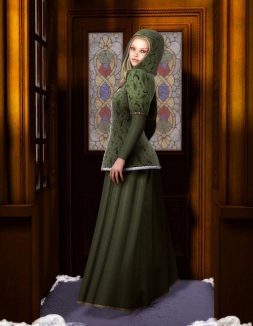 Caroling Dress for V4