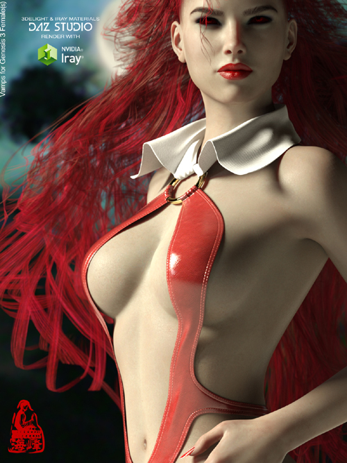 Vamps for Genesis 3 Female(s)