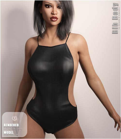 Bib Body for Genesis 8 Females