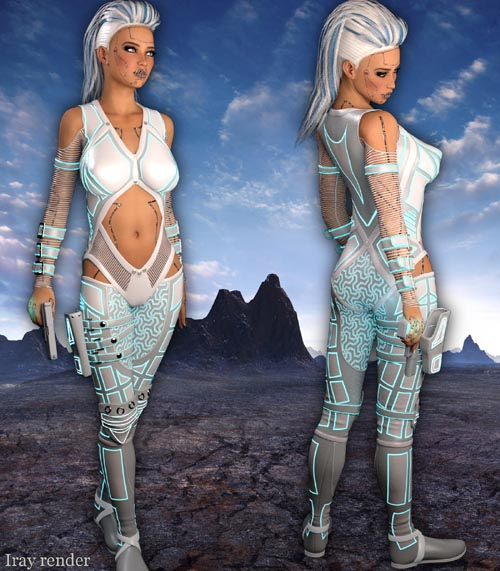 BLACKHAT:FUTURISTIC - Eclipse Fantasy Clothing for G2F