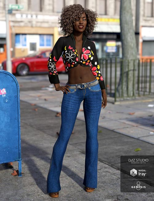 Looking Back Outfit for Genesis 8 Female(s)