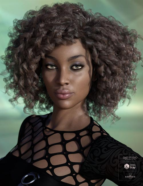 Miranda Hair for Genesis 3 & 8 Female(s)