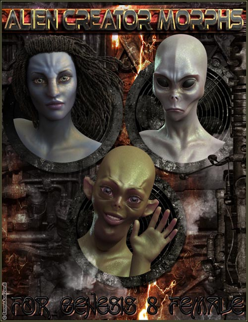EJ Alien Creator Morphs for Genesis 8 Female(s)