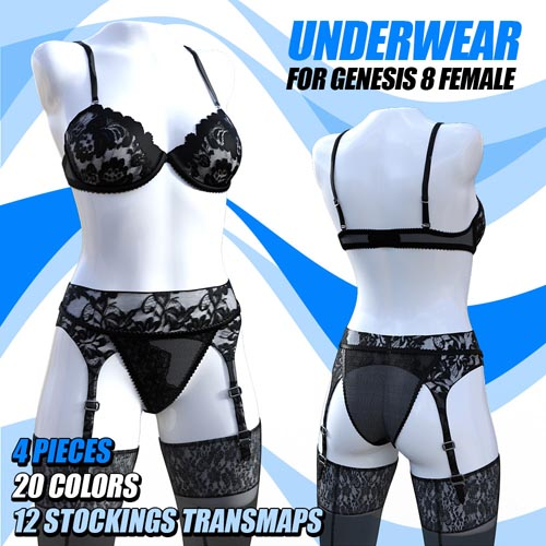 Underwear for G8 females