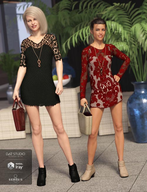 Crochet Dress Outfit Textures