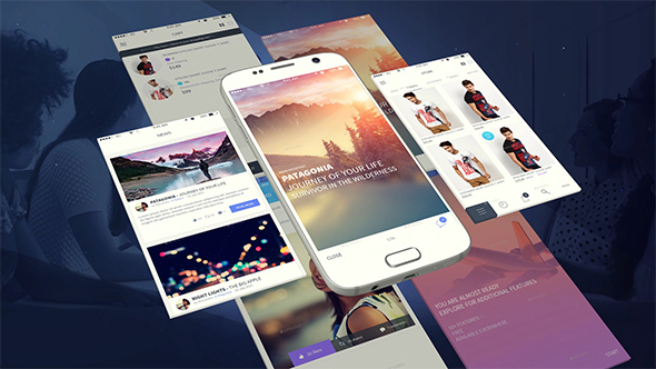 Android App Presentation Template