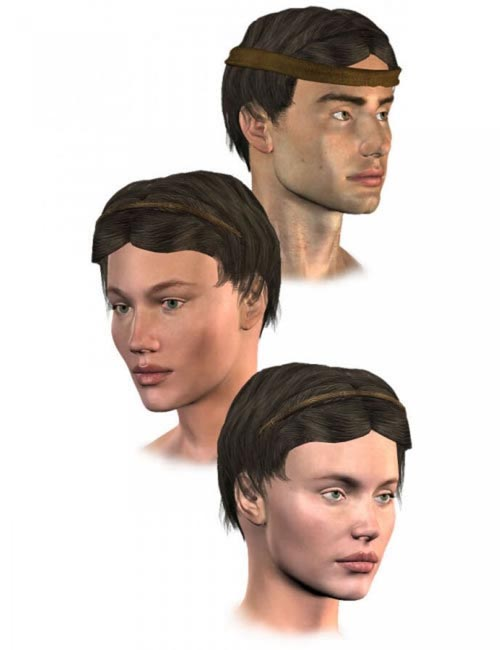 Mediterranean Hair for M3, V3 and S3P
